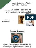 Apres. Cancer Mama - Fernanda e Wanessa