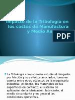 Impacto de La Tribología en Los Costos De