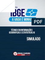 SIMULADO IBGE