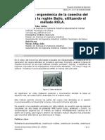 Evaluación ergonómica de la cosecha del brócoli de la región Bajío, utilizando el método RULA.