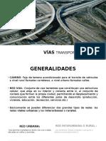Trasnsporte Carretero VÍAS O CAMINOS Y TERMINALES