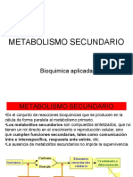 13. Metabolismo Secundario.1