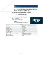 Projac(Rede Globo) to Ponta Remota (Projac)_installation