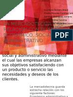 mercadotecnia y su relación con el ámbito social y económico