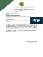 OFICIO 0037 - Conferencias Semana de Minas UNMSM