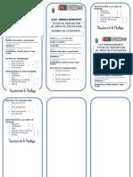 Ficha de Derivación al Área de Psicología (Instituciones externas)