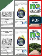 folleto-ambiental-Iquira no se explota