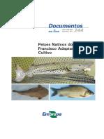 Peixes Nativos - EMBRAPA