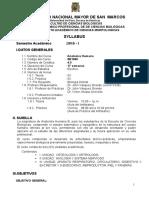 Anatomia Humana, Plan 2003