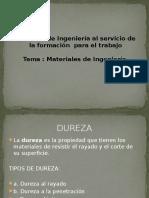 DUREZA DIAPOSITIVAS