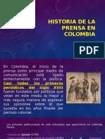 PRESENTACIÓN HISTORIA DE LA PRENSA EN COLOMBIA