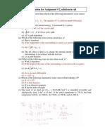 Solution Assignment 2 P CHEM