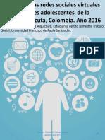 Impacto de las Redes Sociales Virtuales en adolescentes de la ciudad de Cúcuta-Colombia