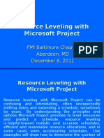 resource levelling rules.ppt