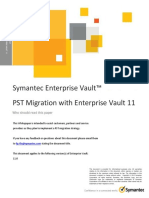 EV Whitepaper - PST Migration With Enterprise Vault 11