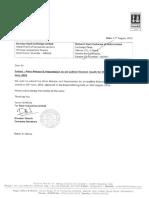 Results Press Release, Result Presentation for June 30, 2016 [Result]
