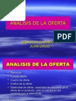 ANALISIS DE LA OFERTA Econ General.ppt