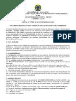 001 Seletivo Aluno Caxias Seletivo Para Admissao de Grad
