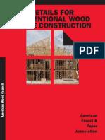 Wood Frame Const Details WCD1-300