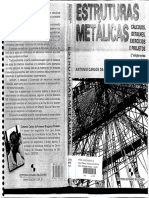 Estruturas Metálicas Cálculos, Detalhes, Exercícios e Projetos