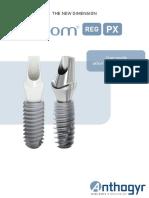 Anthogyr:Axiom Implant Catalog