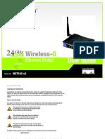 Moduly Wi Fi 54 Wet54g Ug