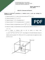 Guía 4. Geometría Del Espacio