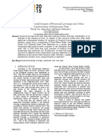 2015_Study of the Overall Impact of Financial Levearge and Other Determinants of Systematic Risk