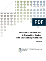 Working Paper-Theory of Investment