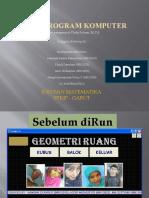 Tugas Program Komputer Geometri