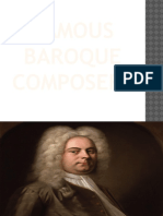 Baroque Artists Composers