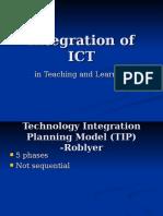 Integration of ICT_TIP