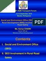Plenary C1_Chann Soriya_Rural Road Safety