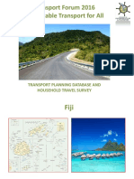 Subplenary D2_Faranisese Kinivuwai_Transport Planning Household Survey