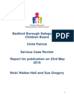 Patrick Final Report for PUBLICATION 23.5.16