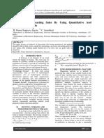 Analysis of Forecasting Sales By Using Quantitative And Qualitative Methods