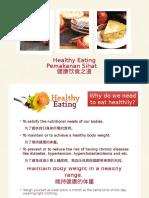 Healthy Eating (Shamini)