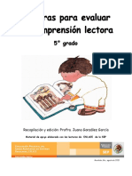 Comprensión Lectora-5 Grado_Med
