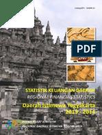 Statistik Keuangan Daerah Istimewa Yogyakarta 2013 2014