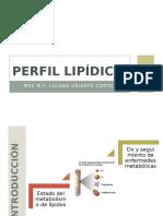 Perfil Lipídico y Hepático Ppt