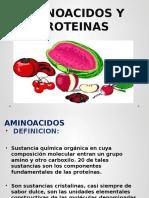 Aminoacidos y Proteinas Aa