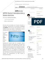 Servicios Web RESTful Con HTTP