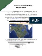 Tutorial Cara Download Citra Landsat