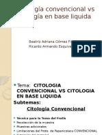 3 Citología convencional vs citología en base liquida