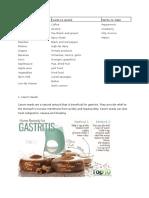 Gastitis Foods to Eat