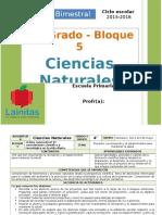 Plan 4to Grado - Bloque 5 Ciencias Naturales.doc
