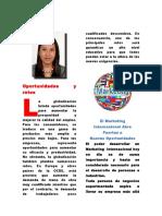 Oportunidades y Retos Del Marketing Internacional, KEYLIN ROMERO