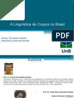 A Linguística de Corpus No Brasil
