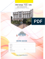 Workbook BBA 1st Year