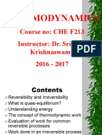Thermodynamics - Work and Heat
